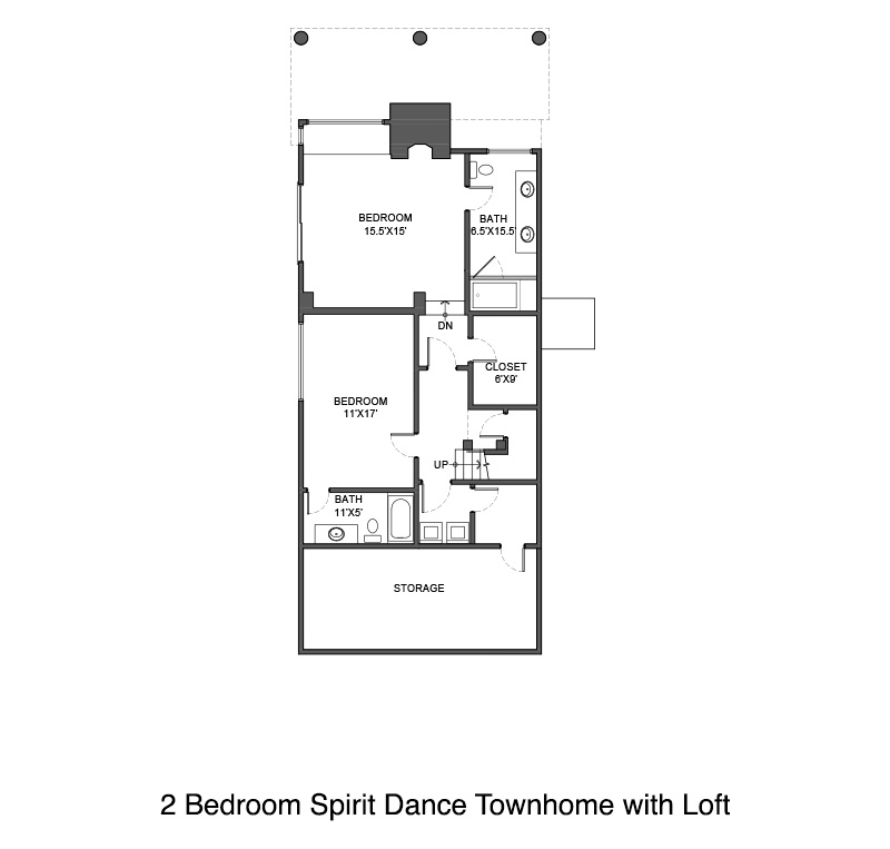 Spirit Dance Townhome Floor Plan